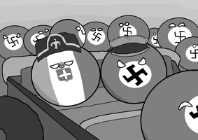 Hitler and Mussolini by bI777
