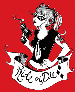 Harley Quinn: Ride or Die by SteakandUnicorns