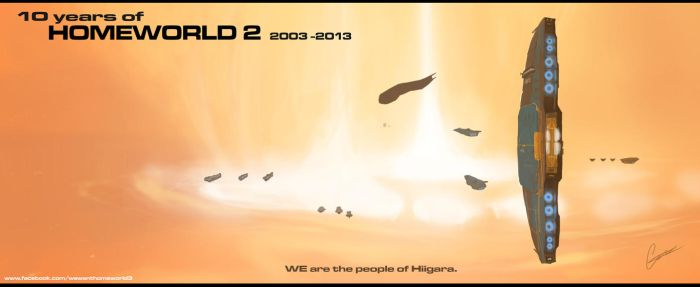 Homeworld2 10th year! by ConnorDiver