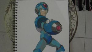 Megaman by GoblinKing28