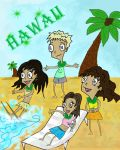 Hawaii by Erzaix