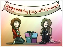 Happy Birthday LetsSaveTheUniverse by Star-Jem