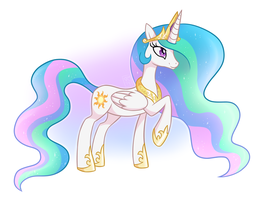 Princess Celestia by tessiursa