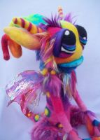 Rainbow Whistle Pop Goblin by Tanglewood-Thicket