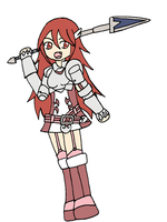 FE Month Day 1: Cordelia by jigglysama