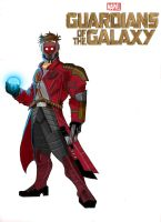 Starlord by Gilliland35
