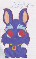 OC Jewelpet Andy by Alice-of-Africa