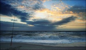 LBI Sunrise - Before the Storm by mydigitalmind