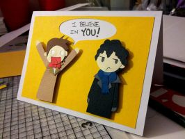 I Believe in Sherlock! by Hatpire