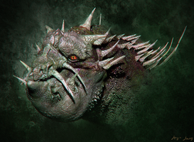 Dragon Brute by sergiosoares