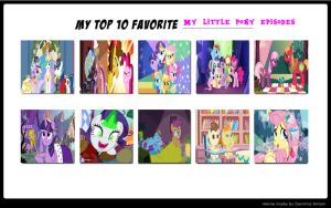 Favorite MLP Episodes by Jdailey1991