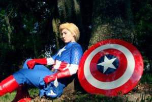 The First Avenger by four-leaf-charm