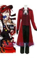 Grell Sutcliff's Costume in Black Butler for cos by meganpu