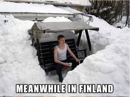 Meanwhile in Finland.... by AmberTheAlchemist
