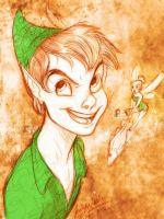 Peter Pan by MistyTang