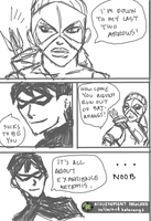 Artemis your such a Noob by EvilFuzz