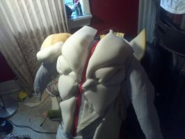 Colossus Muscle Suit Back (incomplete) by FrustratedGenius