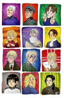 holy cow, it's Hetalia by SIIINS