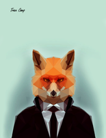 Fox Low Poly by TC-Designs