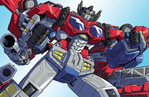 Cybertron Optimus Prime by ZeroMayhem