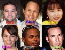 MMPR Cast Now 2012 by LavenderRanger