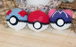 Pokeballs by Nicoule