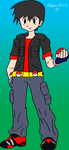 COMMISSION for swack16 - John - Sugimori Style by RPD490