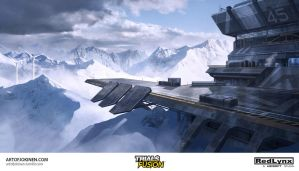 Trials Fusion - Arctic concept art by artofjokinen