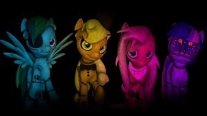 The Broken 4 by The-Lunar-Brony