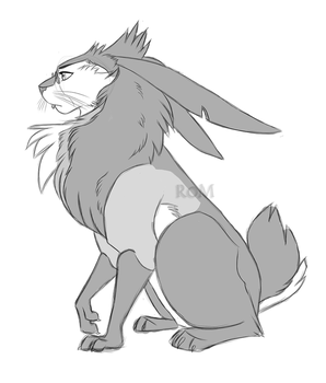 Maned Pooka by The-Ravens-Of-Moraea