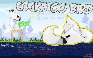 CE: Cockatoo Bird by Fligsper