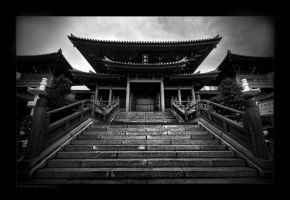 Buddhist Temple II by tyt2000