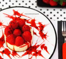Raspberry Cheesecake by theresahelmer