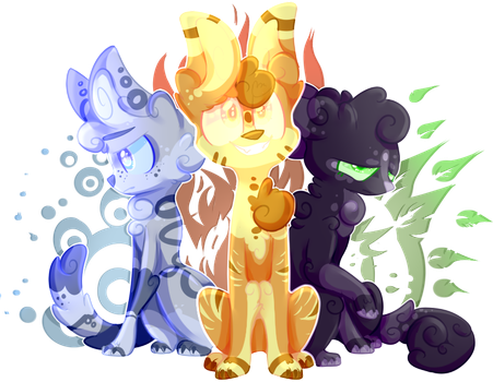 The power of three {Redraw} //+SPEEDPAINT// by OliveCow