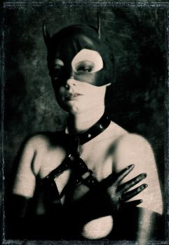 Latex Cat Mask II by hscottbrown
