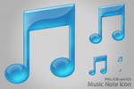 Music Note Icon by Friggog