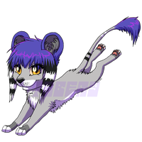 Kainaa Commish-Free chibi-Kaina by Tabery