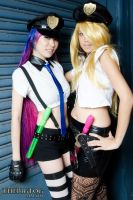 Cop Panty and Stocking by moxillaq