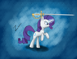 Rarity's Rapier by zaponator