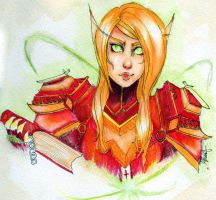 Blood Elf by ISpeakMuffin