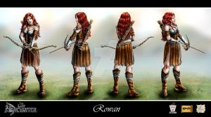 The Last Enchanter_Rowan model by Luaprata91
