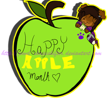 Happy Apple Month! by Jewel-Shapeshifter