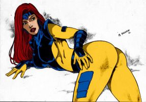 Jean Grey By Marcelloholanda by Kenkira
