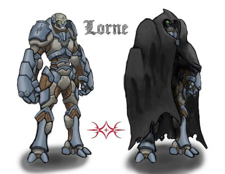 Lorne (DND Character) by GHOST-WORKS