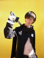 Kaito Black Rock Shooter by AZBY