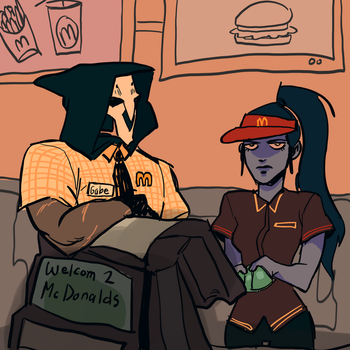 working at mcdonalds?? by aaddoogg