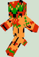 Minecraft Character Skin - NES Metroid Samus Aran by Doctor-Cool