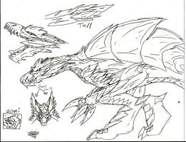 Monster Hunter: Karei's Quests, Spino BrtWyvrn by Xengix008