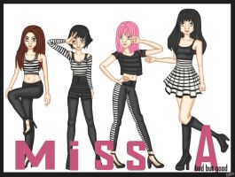 miss A - Bad but Good by IntraVires