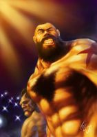 Zangief: Showtime by Grailee